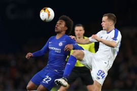 Chelsea vs Dynamo Kiev - Europa League