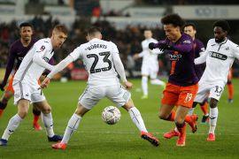 Manchester City vs Swansea - FA Cup