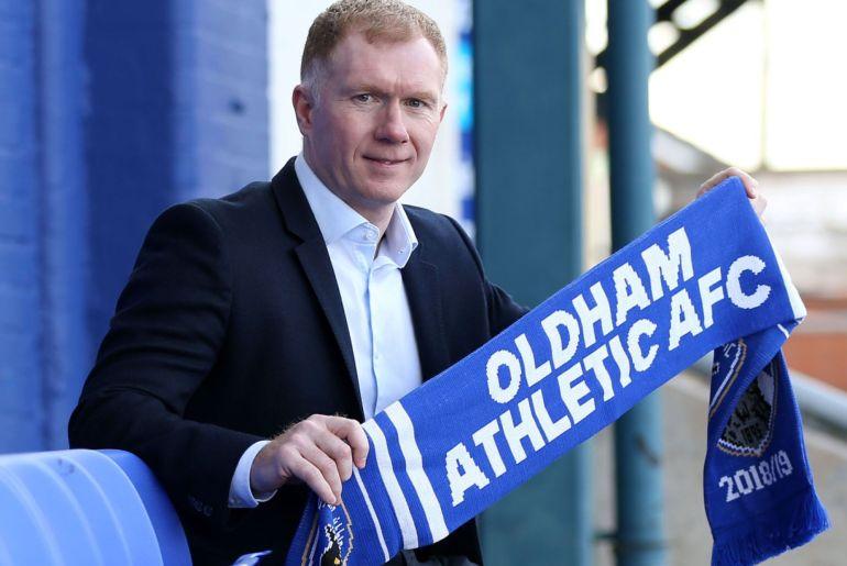 Paul Scholes - Oldham Athletic