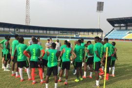 Super Eagles' training session