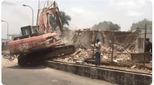 AIT demolition
