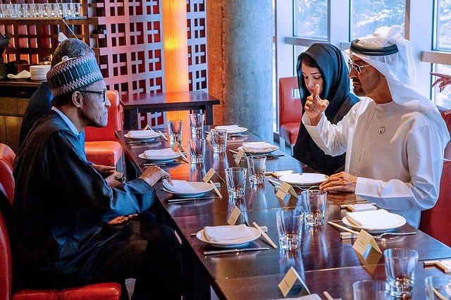 Buhari - Crown Prince of Abu Dhabi