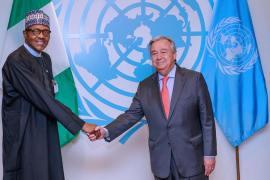 Buhari, Guterres