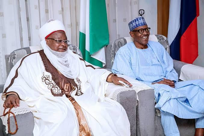 Emir of Katsina and Buhari
