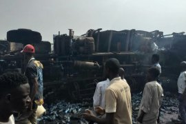 Gombe tanker explosion