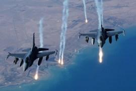 NAF air strikes