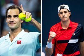 Roger Federer - John Isner