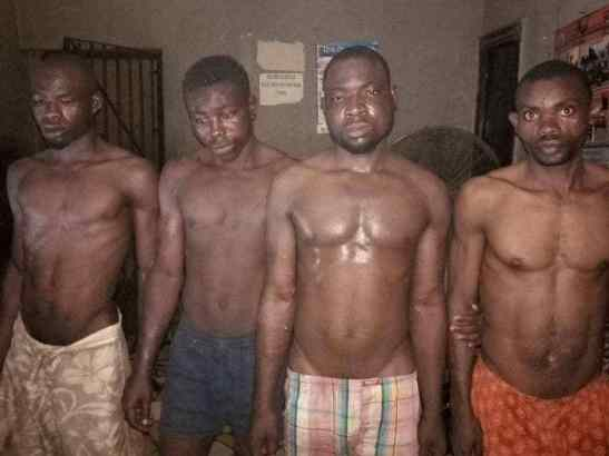 Police nab four terrorists with mobile force uniforms in Edo