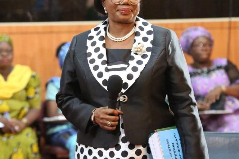 Chief Judge of Lagos, Justice Opeyemi Oke