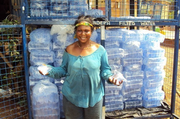 Pure-water-seller