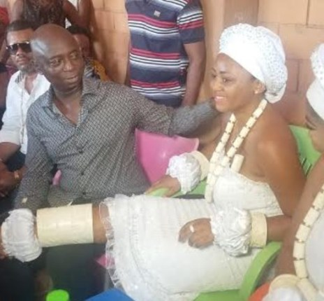 It's official! Regina Daniels ties the knot with Ned Nwoko (photos/video)
