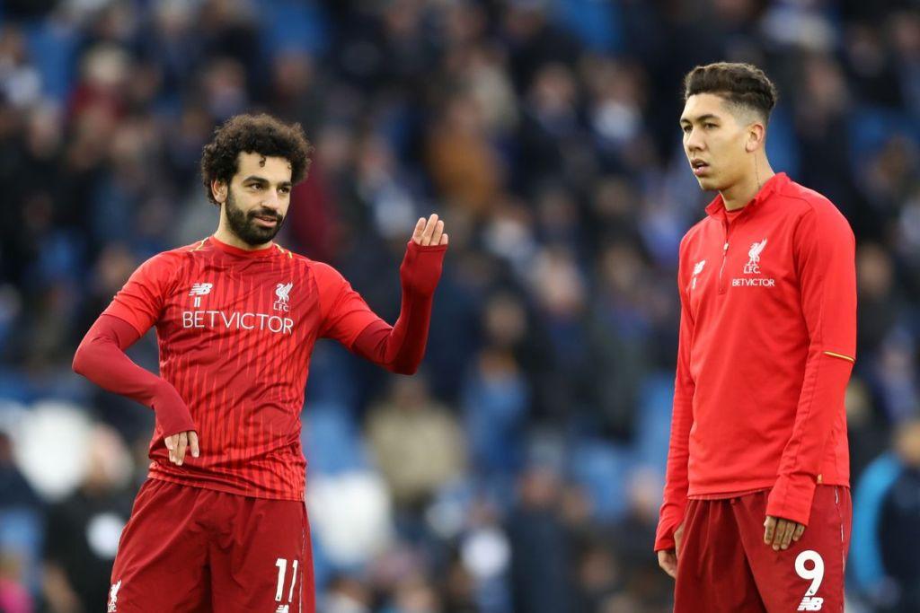 Salah and Firminho