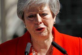 Theresa May. UK PM