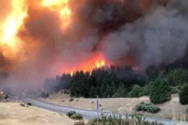 Trans Forcados fire