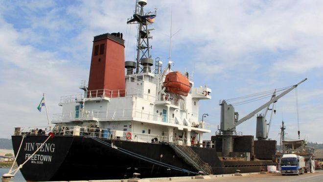 coal ship