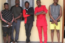 Naira Marley, Zlatan and friends