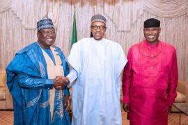 Buhari, Lawan, and Omo-Agege