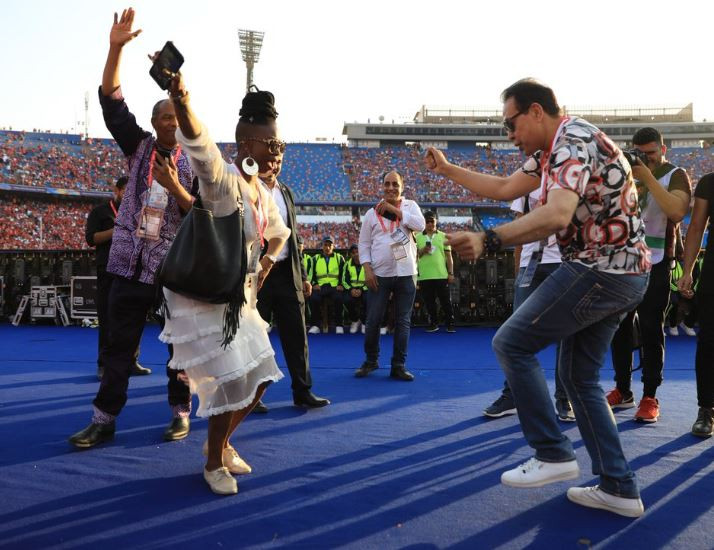 Femi Kuti at AFCON