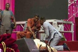 Pastor Adeboye and Apostle Johnson Suleman