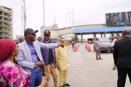 Sanwo-Olu at Lekki toll-gate