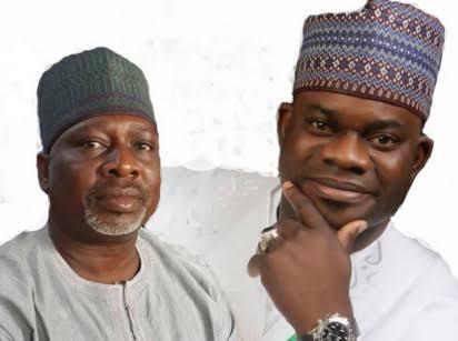 Simon Achuba and Yahaya Bello in Kogi