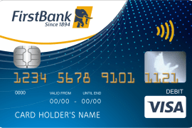Visa Contactless Debit Multi-Currency Card