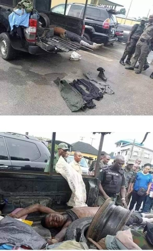 Police gun down Abacha in Rivers (graphic photos)