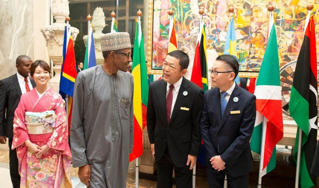 Buhari arrives Japan IPOB
