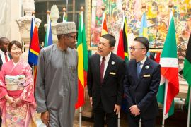 Buhari arrives Japan IPOB