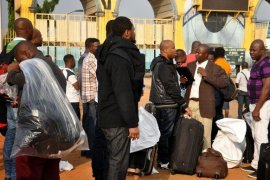 Nigerians deported from Germany