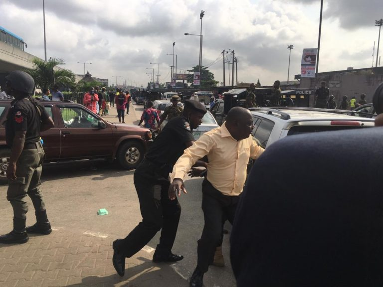#RevolutionNow Protester-Arrested
