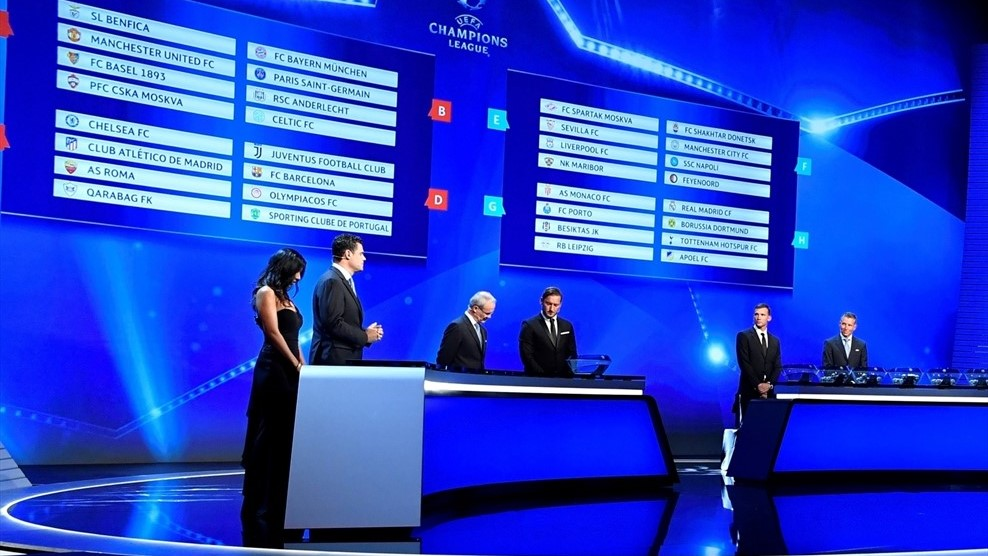 2019 2020 uefa champions league group stage draw full details 2019 2020 uefa champions league group