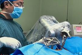 china robotic surgery