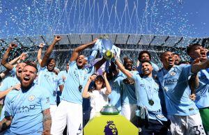 Manchester City League Winning Celebrations