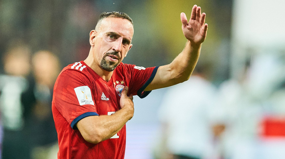 Ribery to join Italy's Fiorentina after Bayern exit