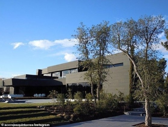 Photos: Eden Hazard splashes £10m on new mansion in Madrid
