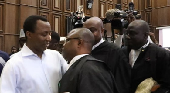 Image result for #HappeningNow: Lawyers argue Sowore's bail application