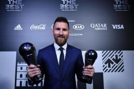 Lionel Messi wins FIFA the Best votes for Ronaldo