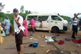 Ekiti Auto crash five wedding guests feared dead