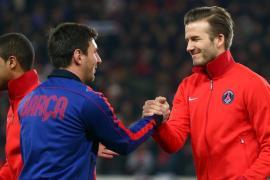 David Beckham Lionel Messi