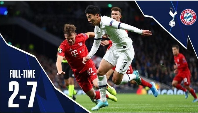 How Bayern Munich humiliated Tottenham