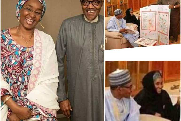 CLASSIFIED: President Buhari allegedly set to marry 2nd Wife