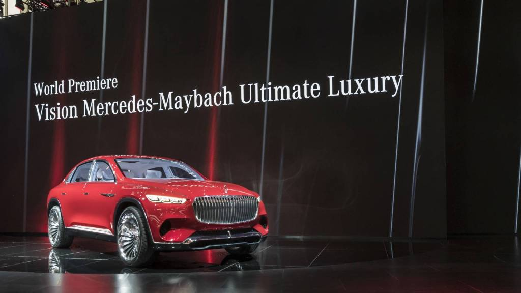 The Vision Mercedes Maybach Ultimate Luxury Limousine