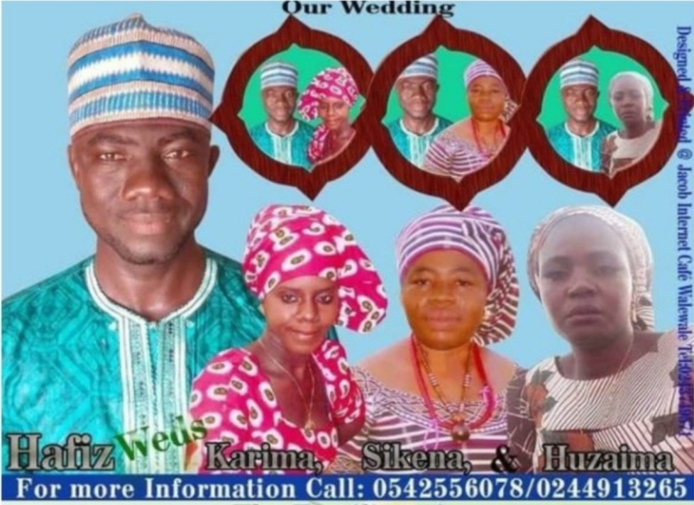 BIZARRE: Man plans to marry 3 women together (Photos)