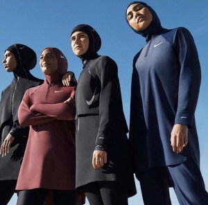 Nike includes hijab swimwear