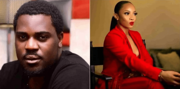 Toke Makinwa slams Yomi Black, leaks dm of him begging for favours