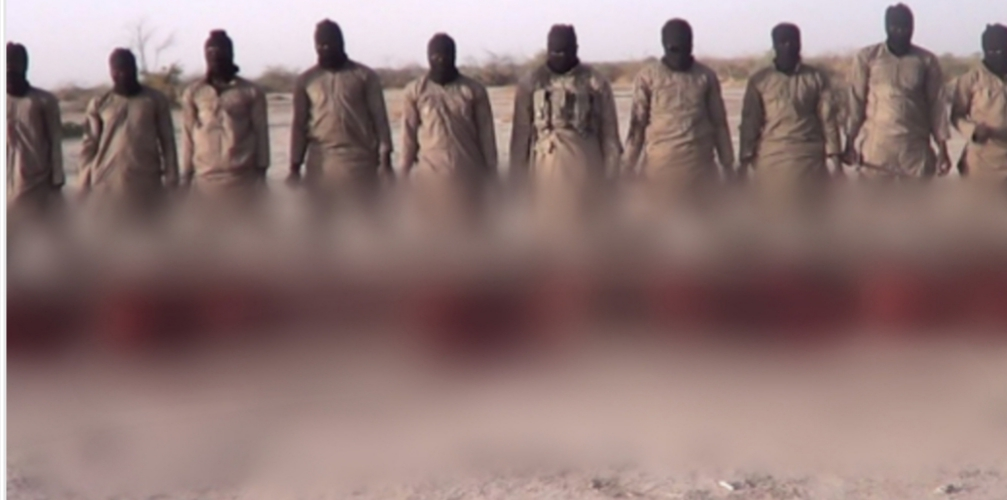 10 Christian Captives Executed On Christmas Day By ISWAP Terrorists