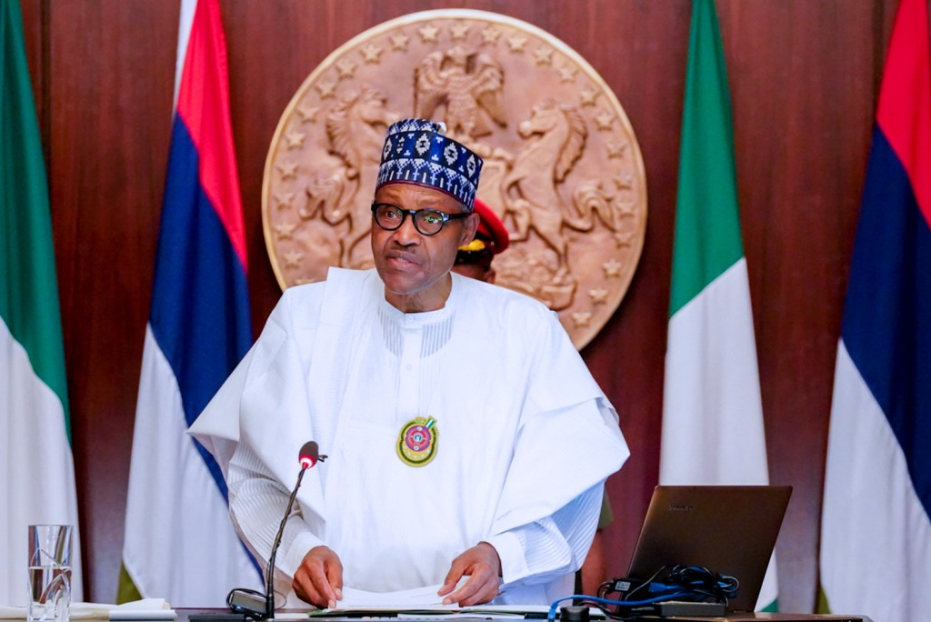 Image result for I will not favour anyone to compromise 2023 election - Buhari