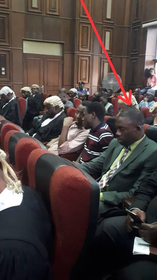 EXPOSED: See the DSS operative who knocked Sowore down in Courtroom (Photos)