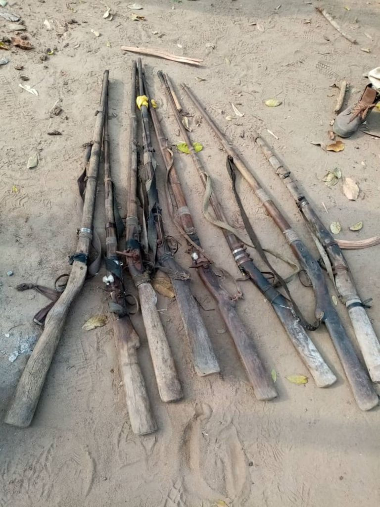 Army recovers 8guns, 725 cannabis from edo state